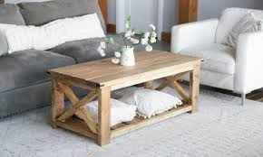 21 homemade coffee table plans you can