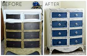 Navy Blue Dresser Bedroom Furniture Favorite Furniture Makeovers The Lilypad Cottage