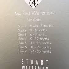 Stuart Weitzman Baby Shoe Size Chart Stuart Weitzman Baby Shoe Nwt