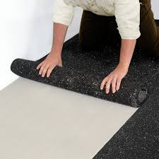 iso step floor underlayment roll out and lay the iso step into