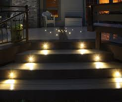 deck stair lighting ideas. Image Of: Outdoor Stair Lighting Photos Deck Ideas T
