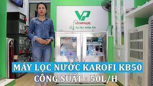 GIỚI THIỆU] Máy lọc nước bán công nghiệp Karofi KB50 công suất lọc 50  lít/giờ - YouTube