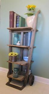 repurposed office furniture. this is diyable antique furniture dolly repurposed into shelf by finenestfurnishings 36000 office