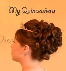 Hairstyles For A Quinceanera Quinceanera Updo Hairstyle Quince Youtube