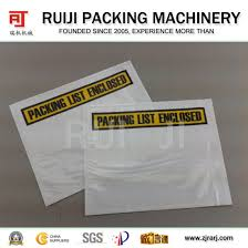 China Automatic Packing List Envelope Bag Making Machine For
