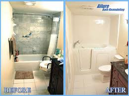 bathtub conversions for seniors in phoenix scottsdale az before and after photos