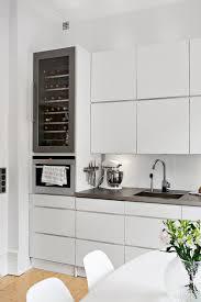 Best  Wine Fridge Ideas On Pinterest - White contemporary kitchen