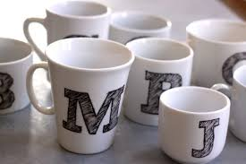 Mug Design Ideas Monogram Mug