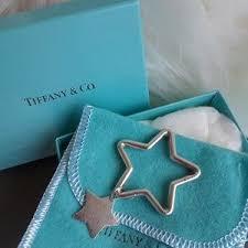 tiffany co jewelry tiffany co star key chain