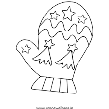 Coloring is a very useful hobby for kids. Winter Mittens Coloring Pages For Kids Printable Mitten Drawing Pdf Download Printables Worksheets Digital Art Read Articles