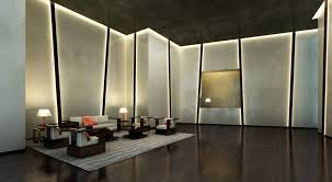 led indirect lighting in false ceiling and walls