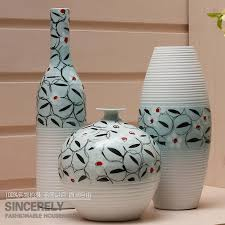 modern home three major sets of vase painting ceramics garden decorations
