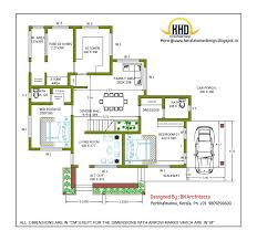 3 bedroom home plans kerala fresh house plans single story 2000 sq ft 1200 sq ft