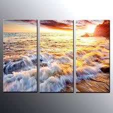 beach wall art canvas landscape canvas prints art dusk beach wall art canvas painting no frame beach themed canvas wall art australia