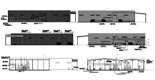 Factory Building Design Factory Building Design Autocad File Cadbull