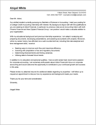 Cover Letter Examples For Resume Internship Cover Letter Resume