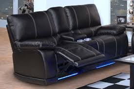 leather reclining loveseat with console recliner couches loveseat recliner with console