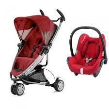 quinny zapp xtra 2 0 folding seat stroller travel system w maxi cosi cabriofix