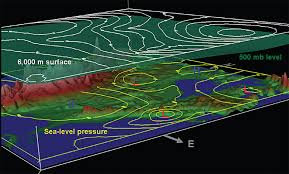 surface pressure charts mariners weather log vol 52 no 3 december 2008