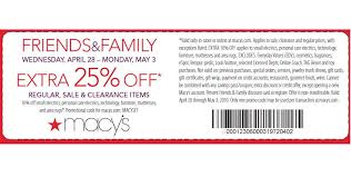 Macys Coupon Exclusions 25 percent off macy s coupon frugality