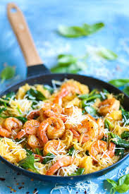 Spaghetti Squash Nutritional Values Shrimp Scampi Spaghetti Squash