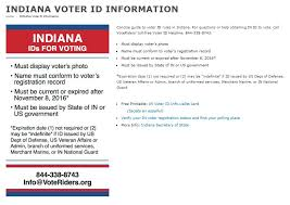 alert Laws Indiana Id Voter - Strict Countable