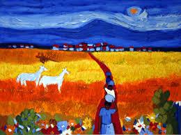 bido original oil on canvas painting