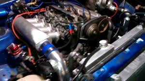 AE86 Corolla 4AGE 20v turbo project...running - YouTube