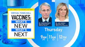 Vaccines: What's New, What's Next' Town Hall with Dr. Jen Ashton and Dr.  Anthony Fauci Thursday, September 23 - ABC13 Houston