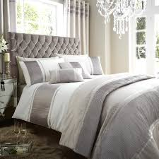 Silver Bedroom Curtains Cairo Silver White Ready Made Eyelet Curtains Harry Corry Limited
