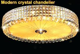 full size of cool modern crystal chandelier with remote control surface mounted re ceiling led lamp