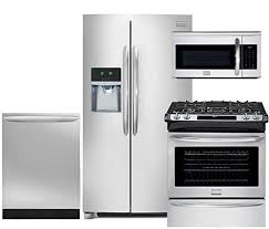 smudge proof refrigerator. Wonderful Smudge Frigidaire Gallery 4Piece SmudgeProof Stainless Steel Package FGHC2331PF  36u0026quot Side Intended Smudge Proof Refrigerator R