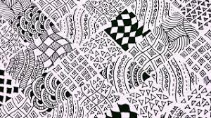 Easy Zentangle Patterns Gorgeous Karthika Loves DIY YouTube Gaming