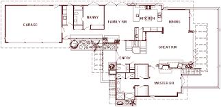 KAUFMANN HOUSE  FALLINGWATER U2022 1939 Main Level U2022 FRANK LLOYD Falling Water Floor Plans