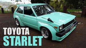 Hawaii Cars: 1982 Toyota Starlet - YouTube