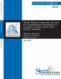Work History And The Access To Contributory Pensions In Uruguay ...