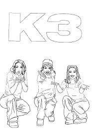 K3 Kleurplaten Kleurplaten