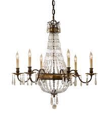 paris 6 arm antique bronze crystal chandelier intended for modern residence antique crystal chandelier plan