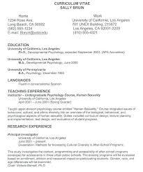 Sample Cv Resume Unique Sample Resume With Additional Resume Format