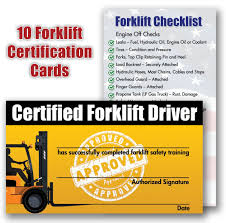 forklift license template download forklift certification card template best templates ideas