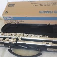 yamaha flute. yamaha yfl-200ad advantage student model flute excellent condition! (yfl-221)