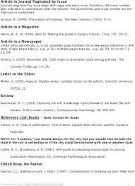 Apa Style Reference List Basic Rules Pdf