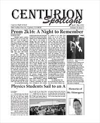 School Newspaper Layout Template School Newspaper Template The Blackboard Free School Newspaper
