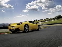 Most aftermarket companies use 2x2 twill weave carbon fiber like what is found. Ferrari 458 Italia Rear Hd Wallpaper 8