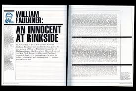 william faulkner essay faulkner s lesson of life faulkner barn  william faulkner essay on ice hockey blog william faulkner