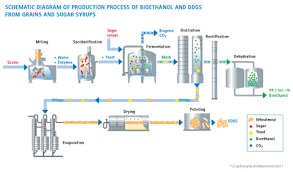 Sugar Production Flow Chart Production Processes Bioethanol Cropenergies Ag