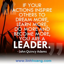 Good Leader Quotes Simple What Is A Leader An Image Quote Designed By R For Linh Hoang Http