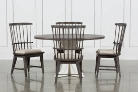 slat back chairs. Candice II 5 Piece Round Dining Set With Slat Back Side Chairs (Qty: 1) Has Been Successfully Added To Your Cart. L