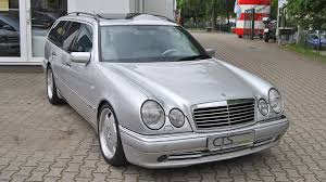 For Sale: 1998 Mercedes E 55 AMG wagon owned by Schumacher ...