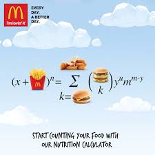 mcdonald s reintroduces customers to food with new nutrition calculator
